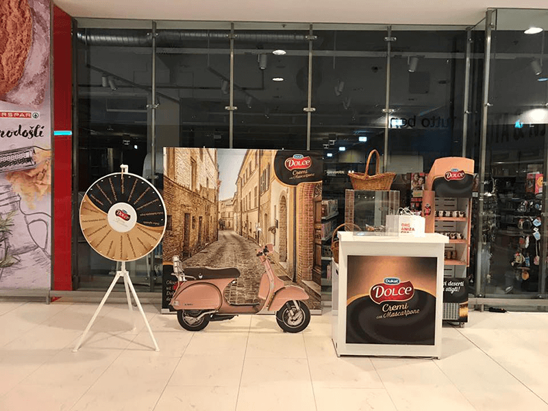 dukat dolce promo set up